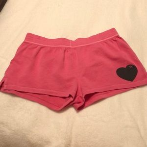 Pink shorts from Victoria's Secret